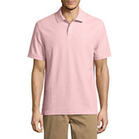 3 St. Johns Bay Short Sleeve Solid Performance Pique Polo Shirt (Multi Colors)