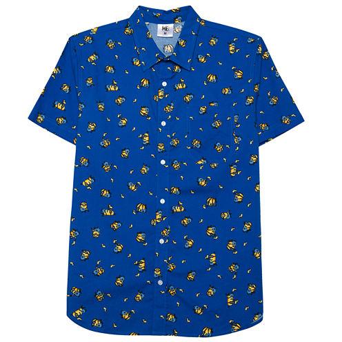Novelty Season Button-Front Shirt