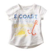 OshKosh B'gosh® Slub Graphic Tee - Girls 5-6x