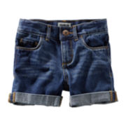 OshKosh B'gosh® Denim Cuffed Shorts - Girls 5-6x