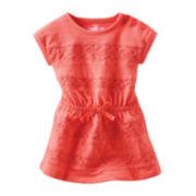 OshKosh B'gosh® Crochet-Inset Dress - Girls 4-6x