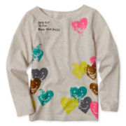 Joe Fresh™ Long-Sleeve Graphic Tee - Girls 1t-5t