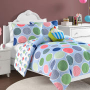 Sweet Thang Polka Dot Reversible Comforter Set