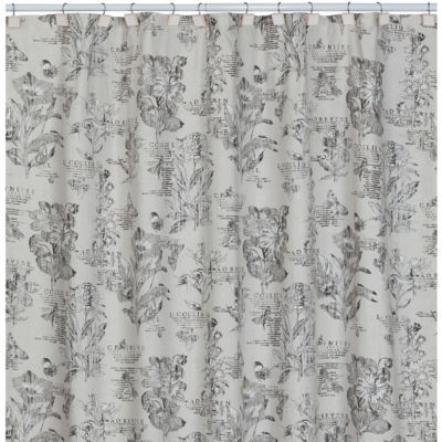Creative Bath™ Sketchbook Botanical Toile Shower Curtain