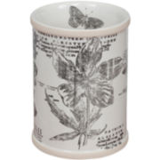 Sketchbook Botanical Toile Tumbler