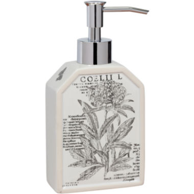 jcpenney.com | Creative Bath™ Sketchbook Botanical Toile Soap Dispenser