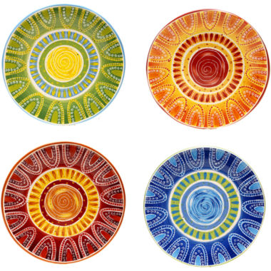 jcpenney.com | Certified International Tapas Set of 4 Dinner Plates