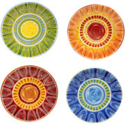 Tapas Set of 4 Dinner Plates