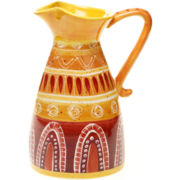 Tapas Hand-Painted Pitcher