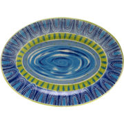 Certified International Tapas Oval Serving Platter