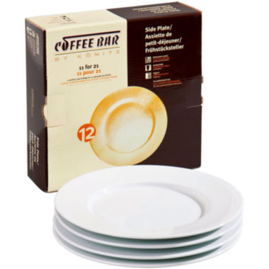 jcpenney.com | Konitz Coffee Bar Set of 4 Side Plates