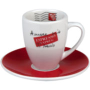 Konitz Coffee Bar Amore Mio 8-pc. Espresso Doppio Cup and Saucer Set