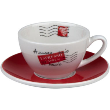 jcpenney.com | Konitz Coffee Bar Amore Mio 8-pc. Cafe Crème Cup and Saucer Set