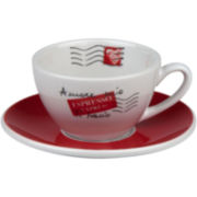 Konitz Coffee Bar Amore Mio 8-pc. Cafe Crème Cup and Saucer Set