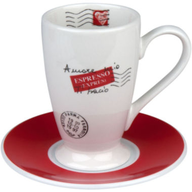 jcpenney.com | Konitz Coffee Bar Amore Mio 4-pc. Irish Coffee Cup and Saucer Set