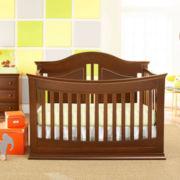 Rockland Austin Convertible Crib - Cocoa