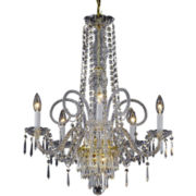 Gallery Murano Venetian-Style 5-Light All-Crystal Chandelier