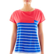 MNG by Mango® Short-Sleeve Striped Tee