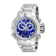 Invicta® Subaqua Mens Blue Dial Chronograph Sport Watch