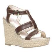 Call It Spring™ Newboro High Wedge Gladiator Sandals