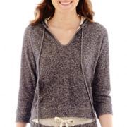 Olsenboye® Raglan-Sleeve French Terry Hoodie