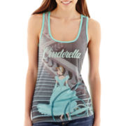 Disney Cinderella Sublimated Tank Top