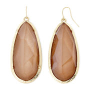 Mixit™ Brown Faceted Earrings