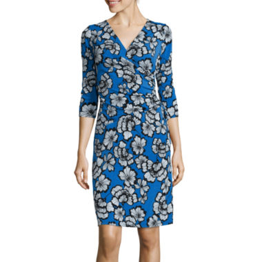 jcpenney.com | Black Label by Evan-Picone 3/4-Sleeve Sheath Dress