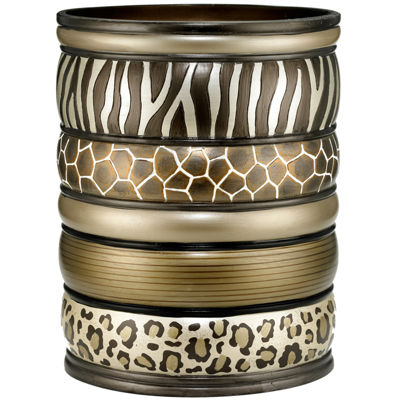 Safari Stripes Wastebasket