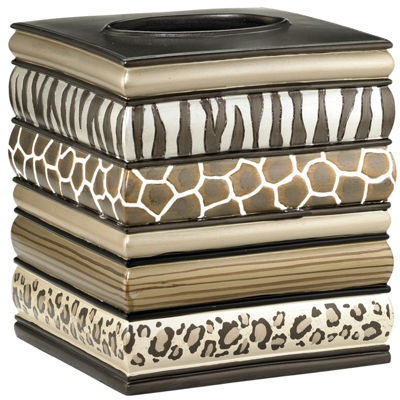Safari Stripes Tissue Cover