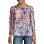 a.n.a®  3/4 Sleeve Off The Shoulder Blouse