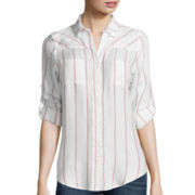 Levi's® Long-Sleeve Striped Pocket Shirt