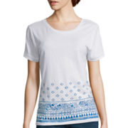 Levi's® Short-Sleeve Roll Cuff Crew T-Shirt
