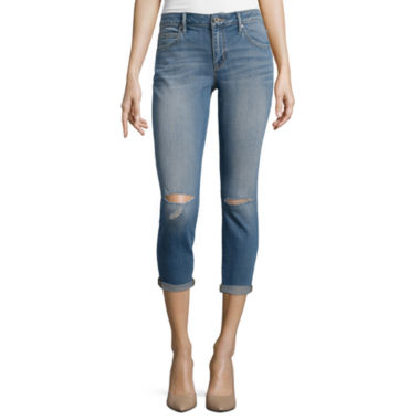 jcpenney.com | a.n.a® Rolled Skinny Ankle Jeans - Tall