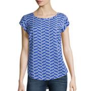 Stylus™ Short-Sleeve Blouse