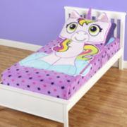 As Seen on TV Zippy Sack™ Unicorn Fitted-Fleece Blanket