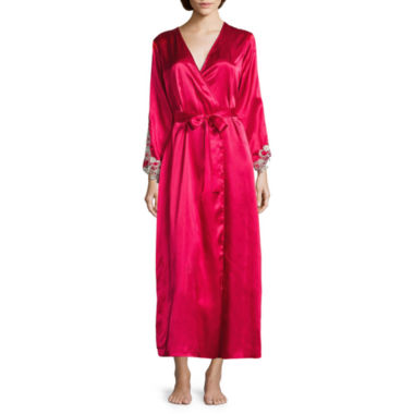 jcpenney.com | Flora By Flora Nikrooz 3/4 Sleeve Satin Robe