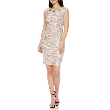 jcpenney.com | Scarlett Sleeveless Embellished Sheath Dress