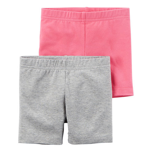 Carter's Preschool Girls Knit Shorts