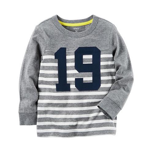 Carter's Preschool Boys Longsleeve T-Shirt