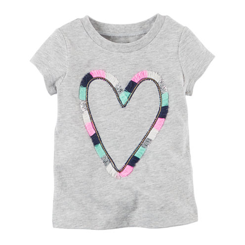 Carter's Infant Girls Short Sleeve T-Shirt