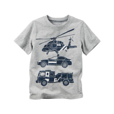 jcpenney.com | Carter's Toddler Boys Short Sleeve Rescue Car T-Shirt