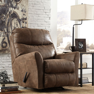 jcpenney.com | Signature Design by Ashley® Tullos Faux Leather Rocker Recliner