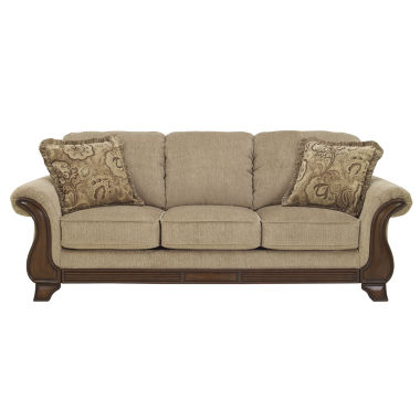 jcpenney.com | Signature Design by Ashley® Lanett Queen Sleeper Sofa