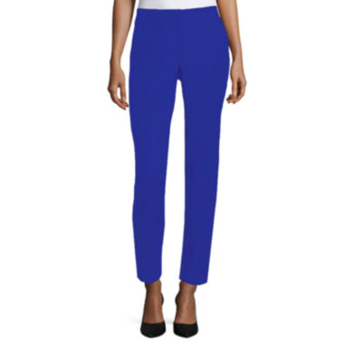jcpenney.com | Worthington Curvy Fit Slim Leg Ankle Pants