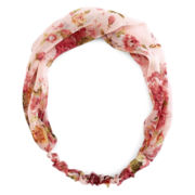 Carole Flower Print Head Wrap