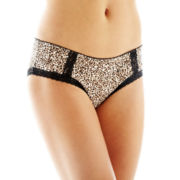 Ambrielle® Lace-Trim Hipster Panties