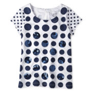 Joe Fresh™ Dotty Tee - Girls 4-14
