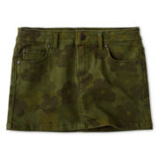Joe Fresh™ Camo Denim Mini Skirt - Girls 4-14