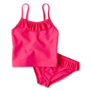 Joe Fresh™ Tankini 2-pc. Swimsuit - Girls 4-14